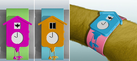 Cuckoo clock watch craziest gadgets - Cuckoo watches ...