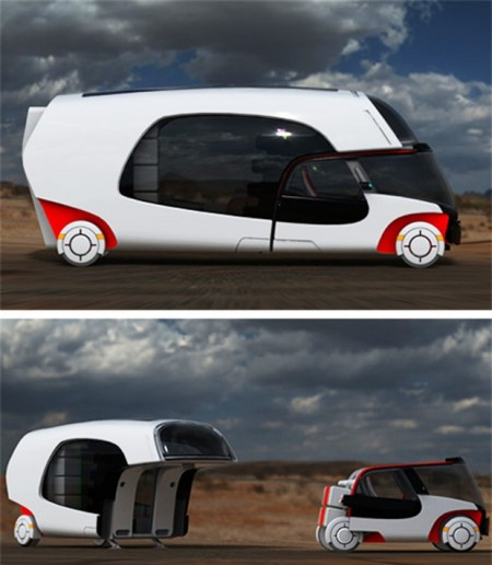 Motorhome With A Detachable Car Built In -Craziest Gadgets