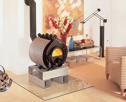The Coolest Wood Burning Stove You Will See Today